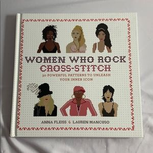 Women Who Rock Cross-Stitch Pattern Book